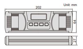 Thước thủy (nivo) điện tử đo độ dốc Insize 2175