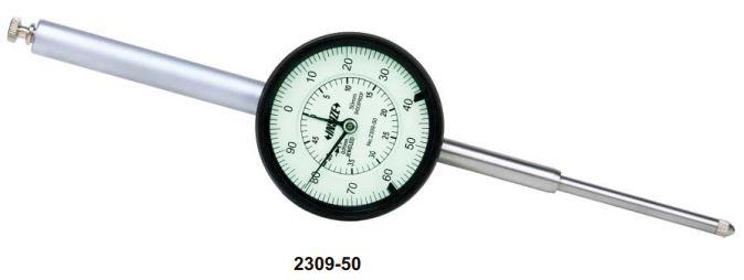 Đồng hồ so cơ khí hành trình dài Insize 2309