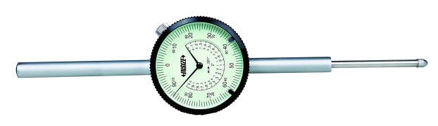 Đồng hồ so cơ khí hành trình dài hệ inch Insize 2326
