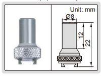 Đồng hồ so chân gập loại đo được hai bên  Insize 2898
