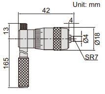 Panme đo trong cơ khí Insize 3221