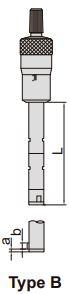 Panme đo trong 2/3 điểm Insize 3227
