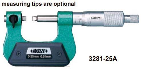 Panme cơ khí đo đường kính chân ren Insize 3281