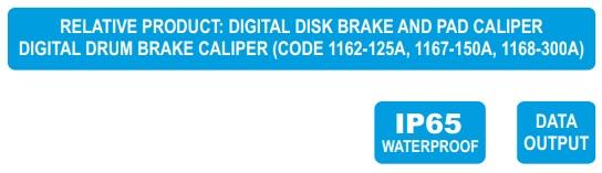 Panme điện tử phanh đĩa Insize 3588