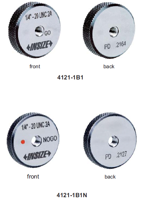 Dưỡng đo ren trụ Insize 4121 (tiêu chuẩn Mỹ)