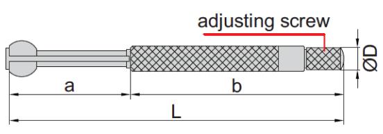 Bộ dưỡng đo lỗ nhỏ Insize 4208-1