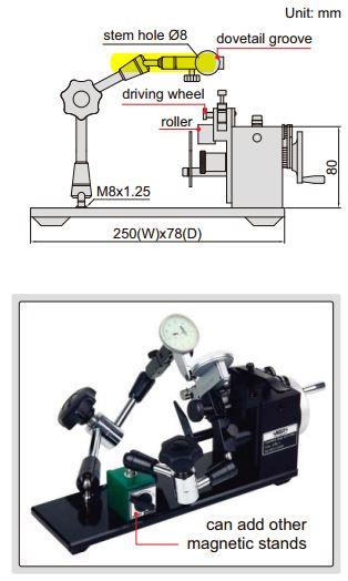 Thiết bị đo đồng tâm Insize 4789