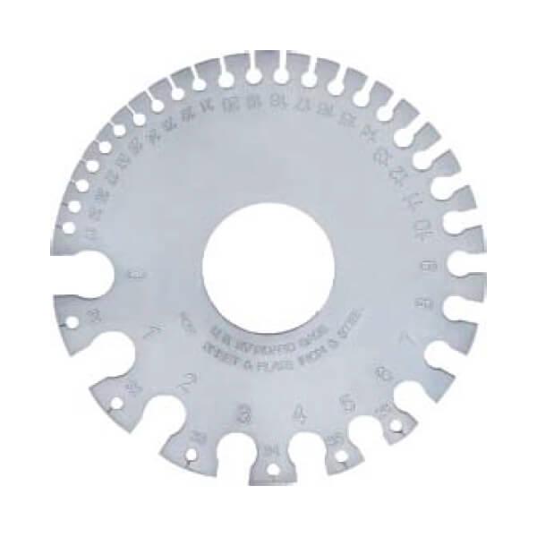 Dưỡng đo tấm Insize 4809 (tiêu chuẩn Mỹ)