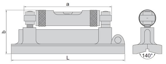 Nivo cân bằng máy Insize 4904