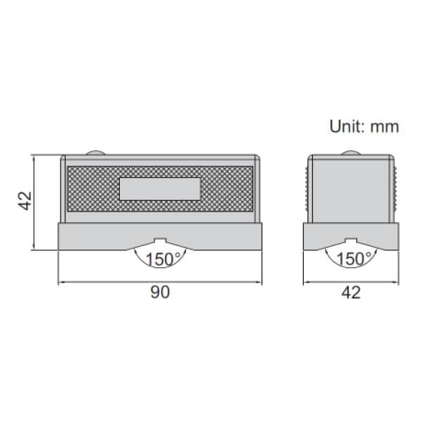 Nivo loại ngắn Insize 4907