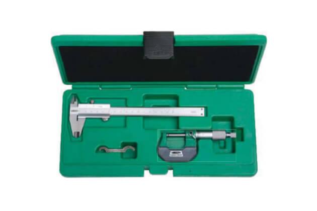 Set thước kẹp và panme cơ khí Insize 5021