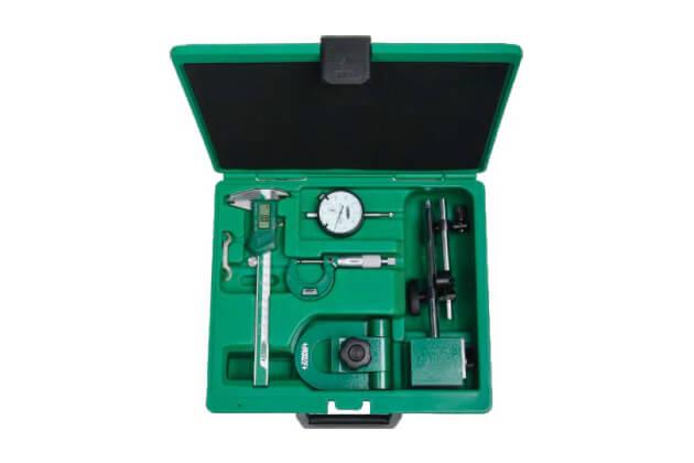 Bộ dụng cụ đo cơ khí chính xác 5 chi tiết Insize 5051