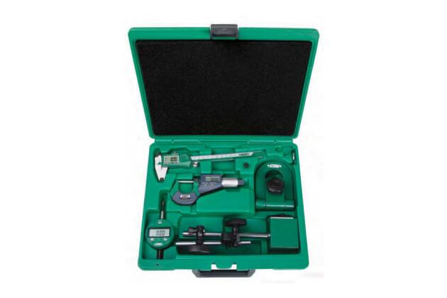 Bộ dụng cụ đo cơ khí chính xác 5 chi tiết Insize 5052