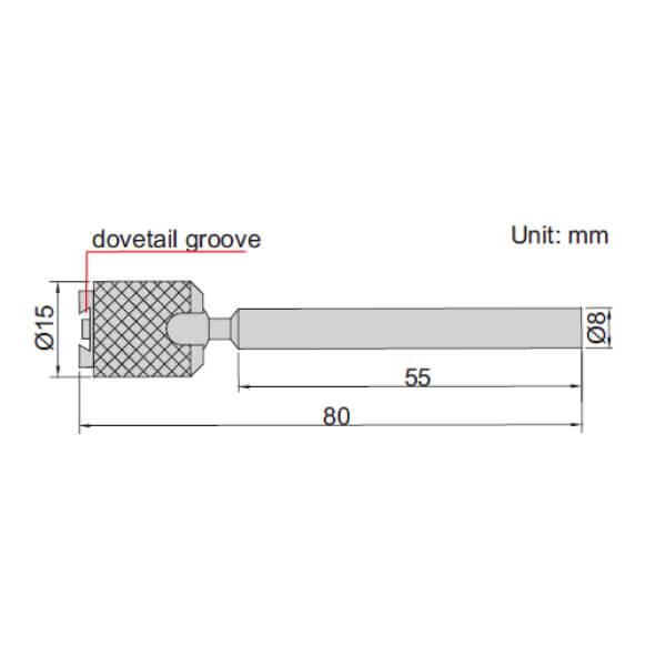 Chân đế từ Insize 6216-80