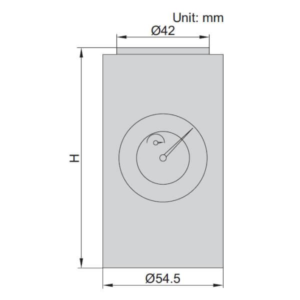 Dụng cụ set 0 Insize 6555-100B