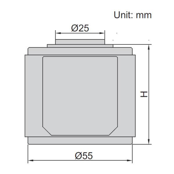 Dụng cụ set 0 điện tử Insize 6554-50
