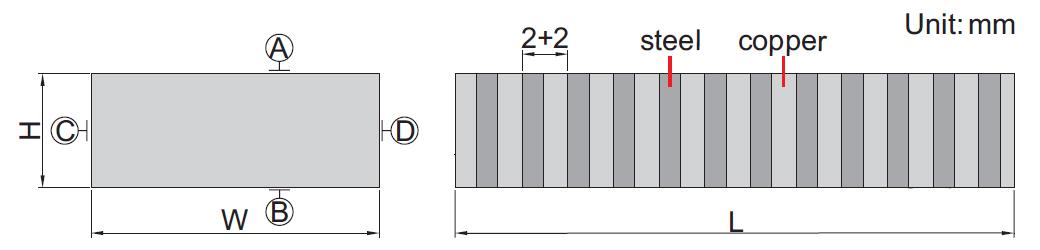 Bộ căn song song từ tính Insize 6879-1