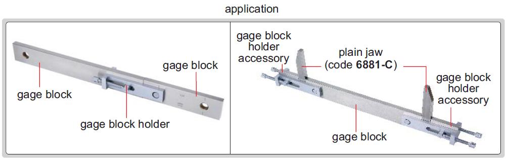 Gá đỡ khối chuẩn Insize 6886