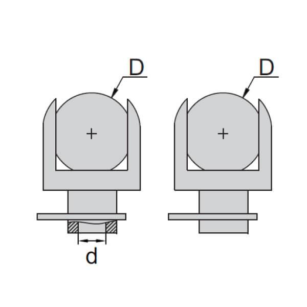 Đầu thay thế Insize 7383 dành cho thước panme đo bánh răng