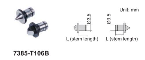 Đầu thay thế Insize 7385 dành cho thước panme đo ren trong