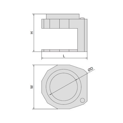 Kính lúp có gắn đèn Insize 7524-10