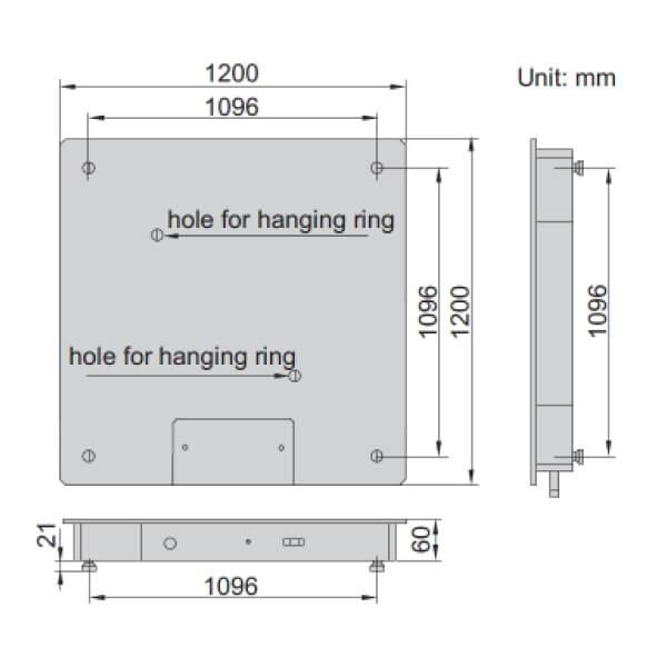 Cân sàn điện tử Insize 8401