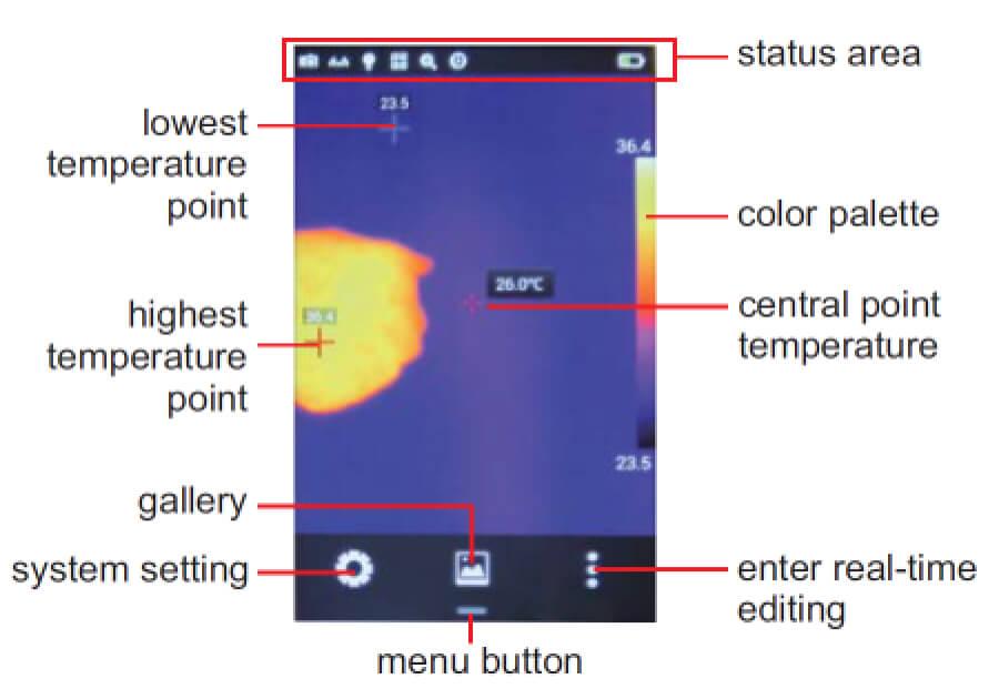 Camera đo nhiệt độ hồng ngoại Insize 9130-H360