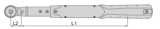 Cờ lê lực điện tử Insize IST-2W (đầu đo có thể thay đổi)