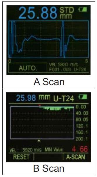 Máy đo độ dày siêu âm Insize ISU-710D