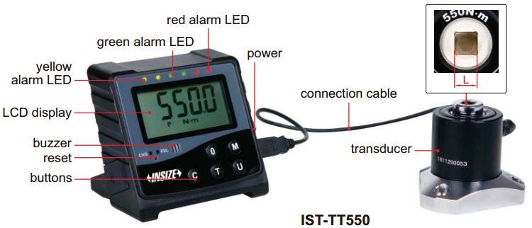 Thiết bị hiệu chuẩn cờ lê lực Insize IST-TT
