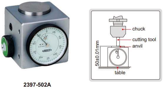 Dụng cụ sét 0 (sét Z) Insize 2397