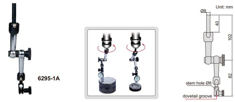 Gá chỉnh tâm CNC Insize 6295