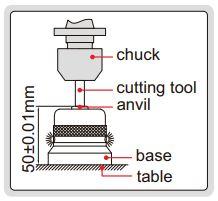 Dụng cụ sét 0 (sét Z) điện tử Insize 6550