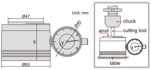 Dụng cụ sét 0 (sét Z) Insize 6556