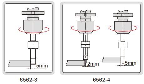 Đầu rà biên CNC Insize 6562
