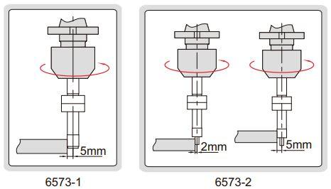 Đầu rà biên CNC loại chống từ tính Insize 6573