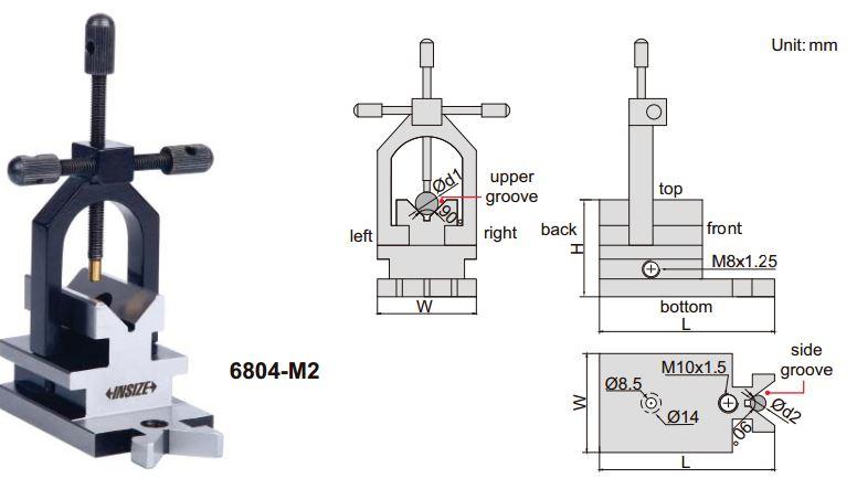 Khối V Insize 6804