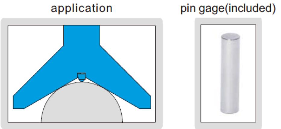 Đồng hồ đo bán kính Insize 2188-55