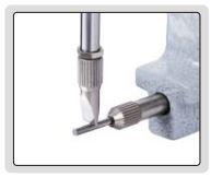 Đồng hồ điện tử đo độ dày ống Insize 2873