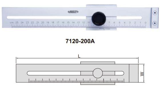 Thước đánh dấu Insize 7120