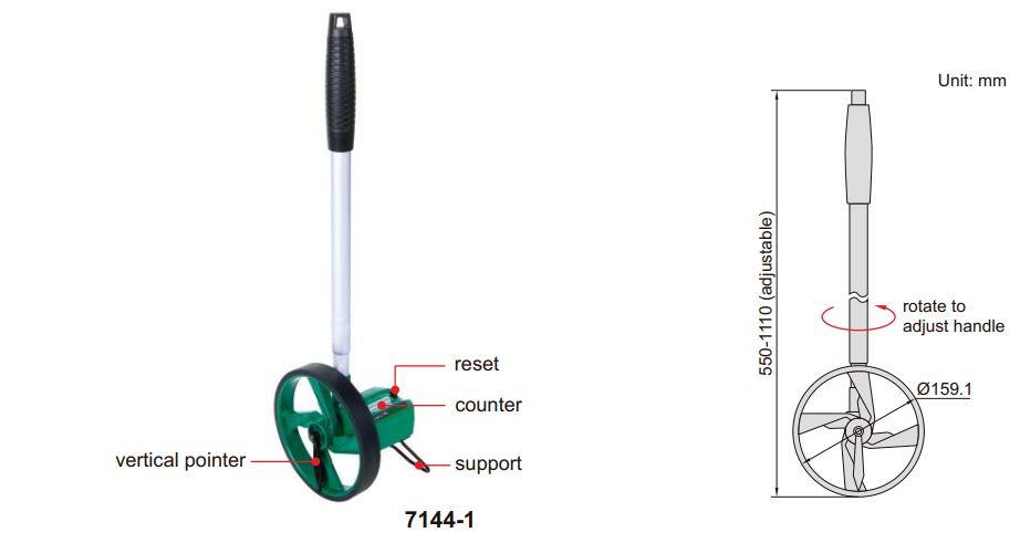 Bánh đo (loại cơ bản) Insize 7144