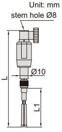 Set đồng hồ đo lỗ kín kích thước nhỏ Insize 2429