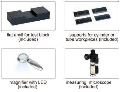 Máy đo độ cứng Brinell/Rockwell loại lực từ Insize ISHR-B141