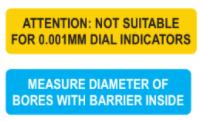 Thước đo lỗ chuyên dụng cho lỗ bị chắn trong Insize 2348-210
