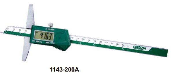 Thước đo sâu điện tử đầu đo dạng điểm (không chống nước) Insize 1143