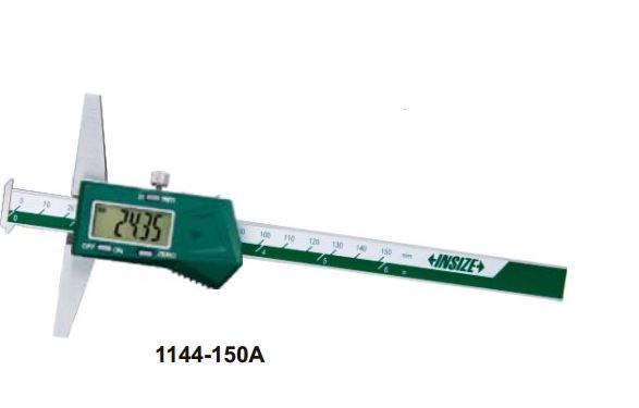 Thước đo sâu điện tử loại 2 ngàm móc (không chống nước) Insize 1144