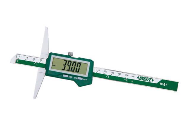 Thước đo độ sâu điện tử (Loại chống nước) Insize 1541