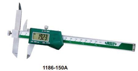 Thước kẹp điện tử mỏ điều chỉnh Insize (Không chống nước) 1186