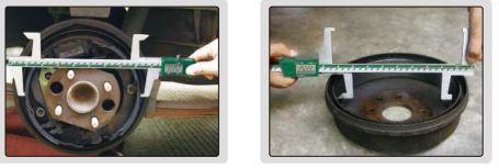 Thước kẹp điện tử đo phanh tang trống Insize (Không chống nước) 1168