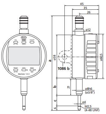 Đồng hồ so điện tử MarCator</h2>                                 <figure class=